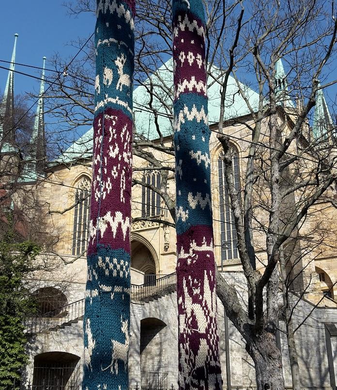 Guerilla-Stricken in Erfurt