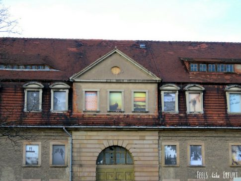 Fassadengalerie auf dem Petersberg