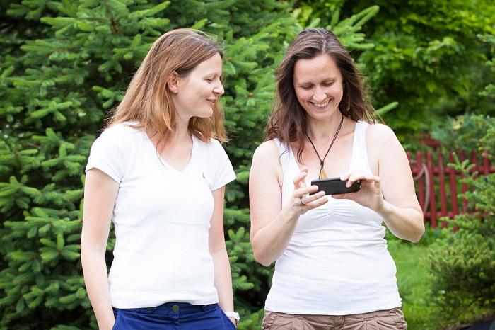 Bianca Schön-Ott und Nicole Sennewald, die beiden Gründerinnen vom Krämerloft Erfurt