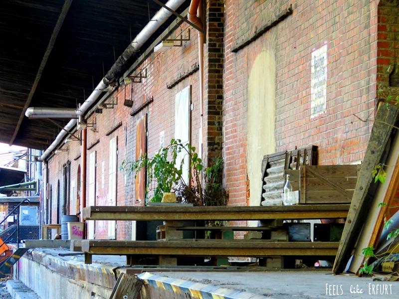Lost Place in Erfurt: Der alte Güterbahnhof