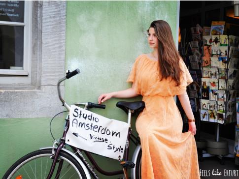 Vintagemode aus Amsterdam in der Erfurter Rumpelgasse