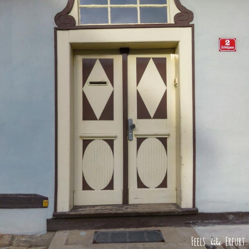 Vintage trifft Pastell: Die #doorsoferfurt – Feels like Erfurt