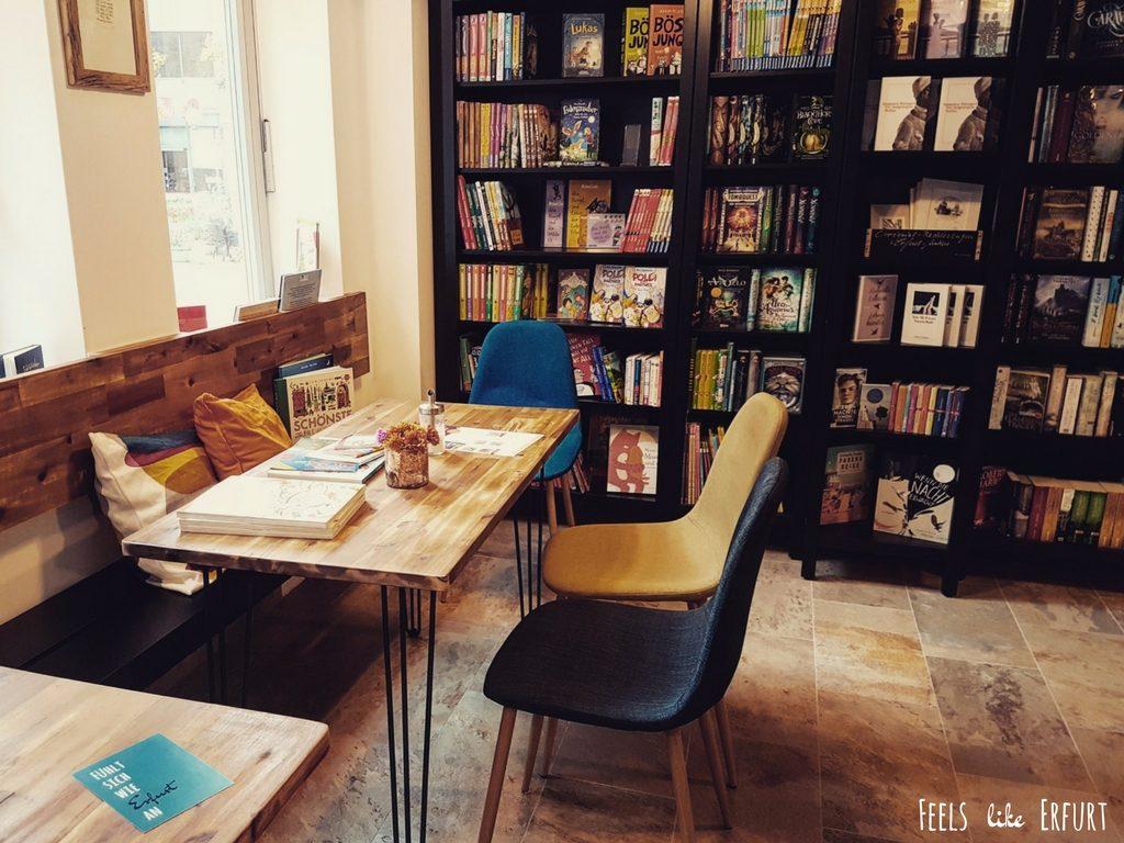 Buchhandlung Kleingedrucktes in der Brühler Vorstadt