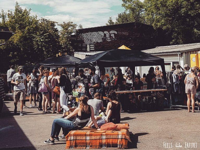 Flohmarkt in Erfurt