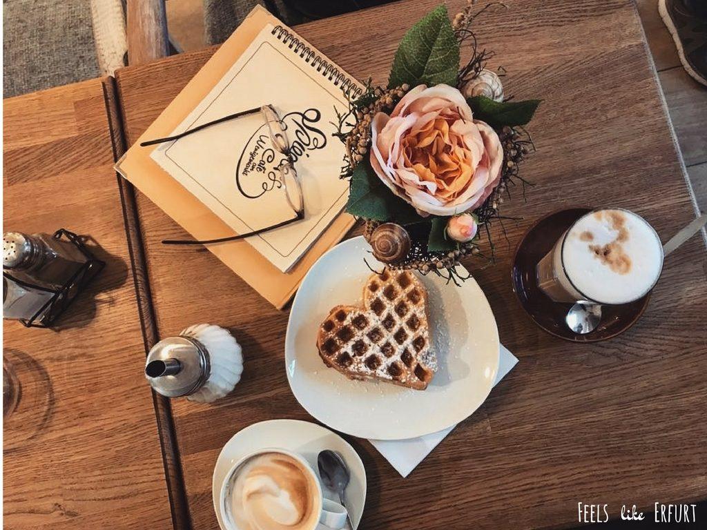 Frühstück im Caféhaus Spiegler am Wenigemarkt Erfurt