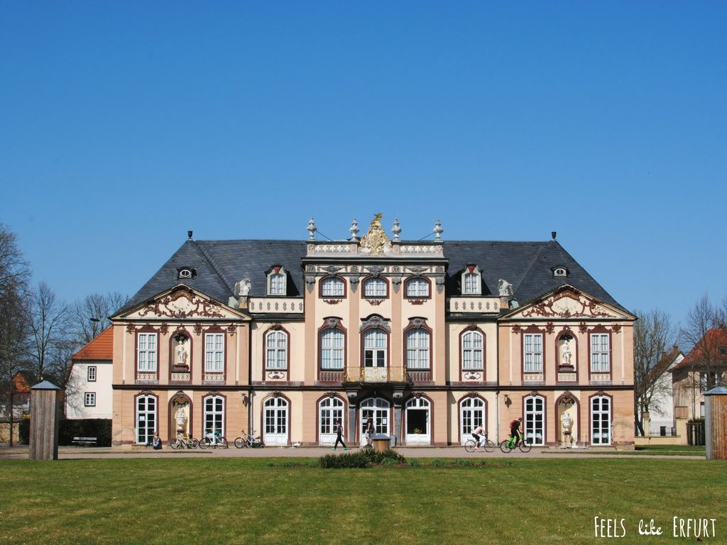 I want to ride my bicycle: Fahrradausflug zum Schloss Molsdorf