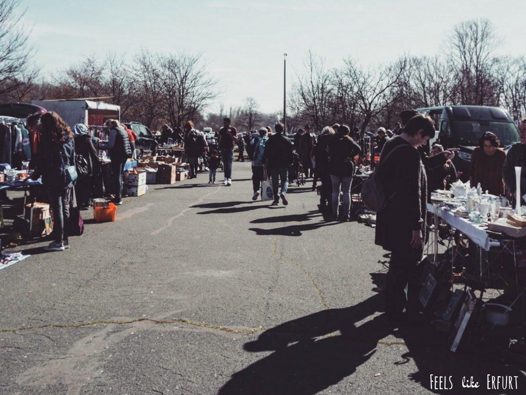Immer wieder samstags: Flohmarkt am Roten Berg