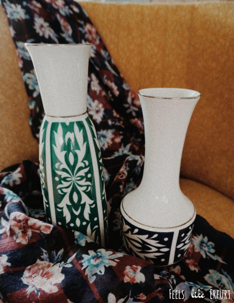 Second Hand Vasen aus dem Kaufhaus Brauchbar in Erfurt
