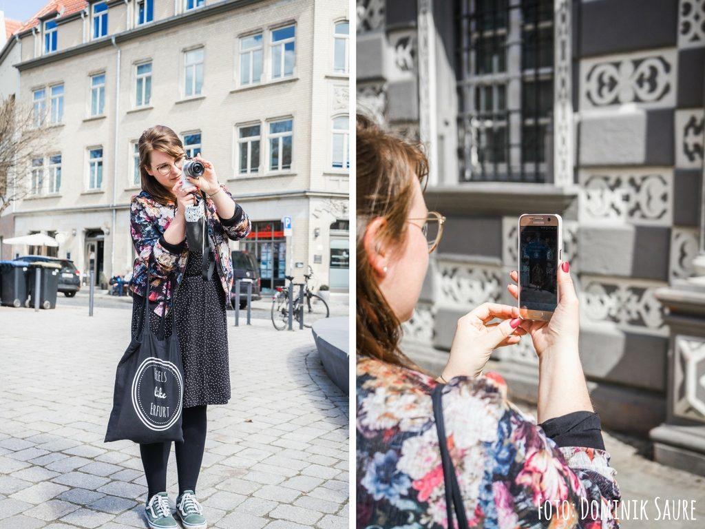 """Unterwegs in Erfurt mit der App """"Thuringia.My Culture"""""""