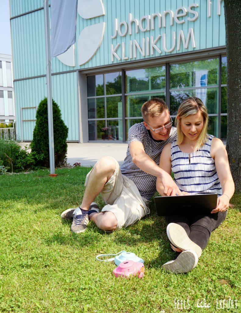 Sebastian und Anja Grießer-Kotzerke, Gründer vom Erfurter Startup Ahwoo