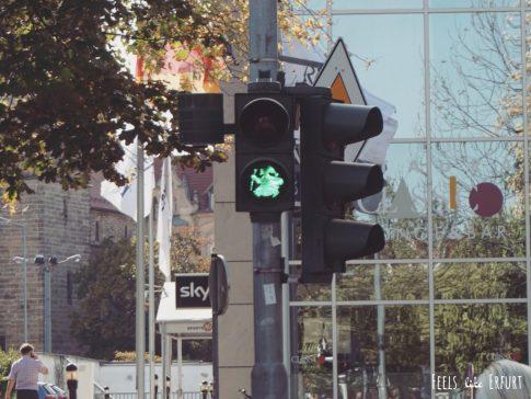 Bei Rot bleibst du stehen, bei Grün darfst du… staunen!