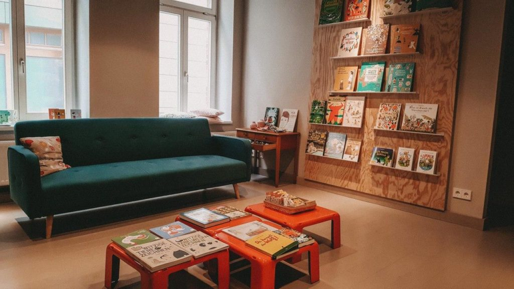 Leseecke der Buchbar