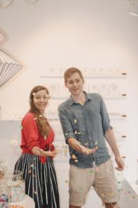 Claudi und Nico von Qnik Papeterie