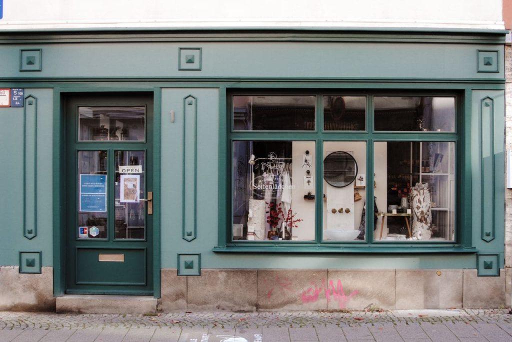 Seifendladen in Erfurt