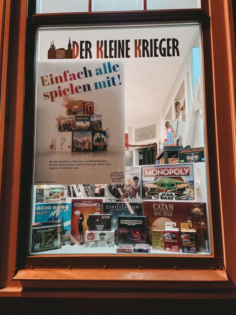 Erfurt Shopping Der kleine Krieger