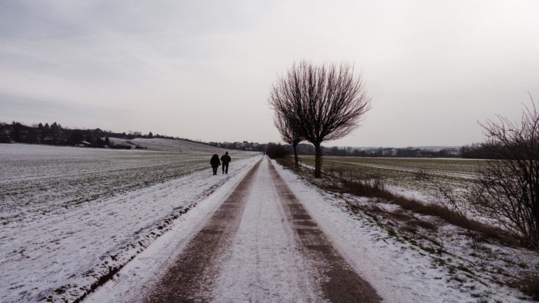 Spaziergang Erfurt Galgenberg