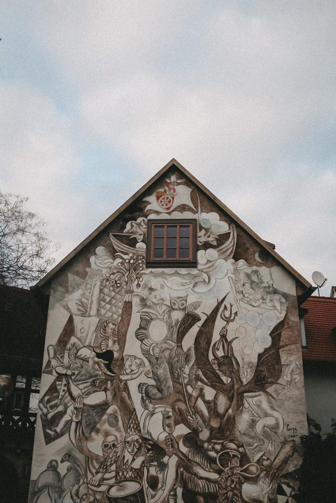 Streetart Erfurt Altstadt