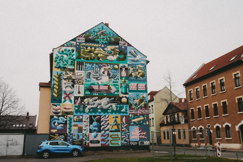 Streetart Erfurt Salzstraße