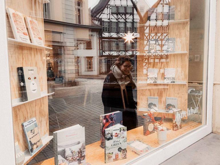 Erfurt shoppen Schaufenster