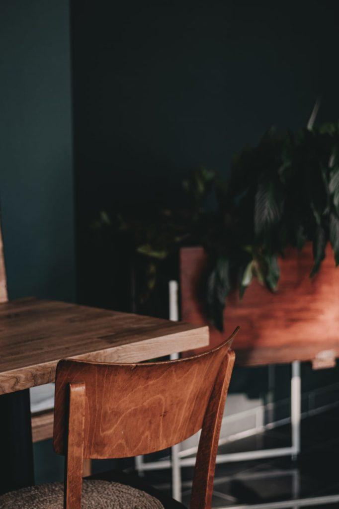 Inneneinrichtung Cafe Nomad