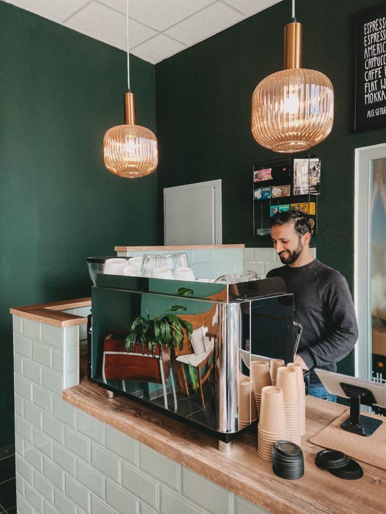 Thaer vom Cafe Nomad