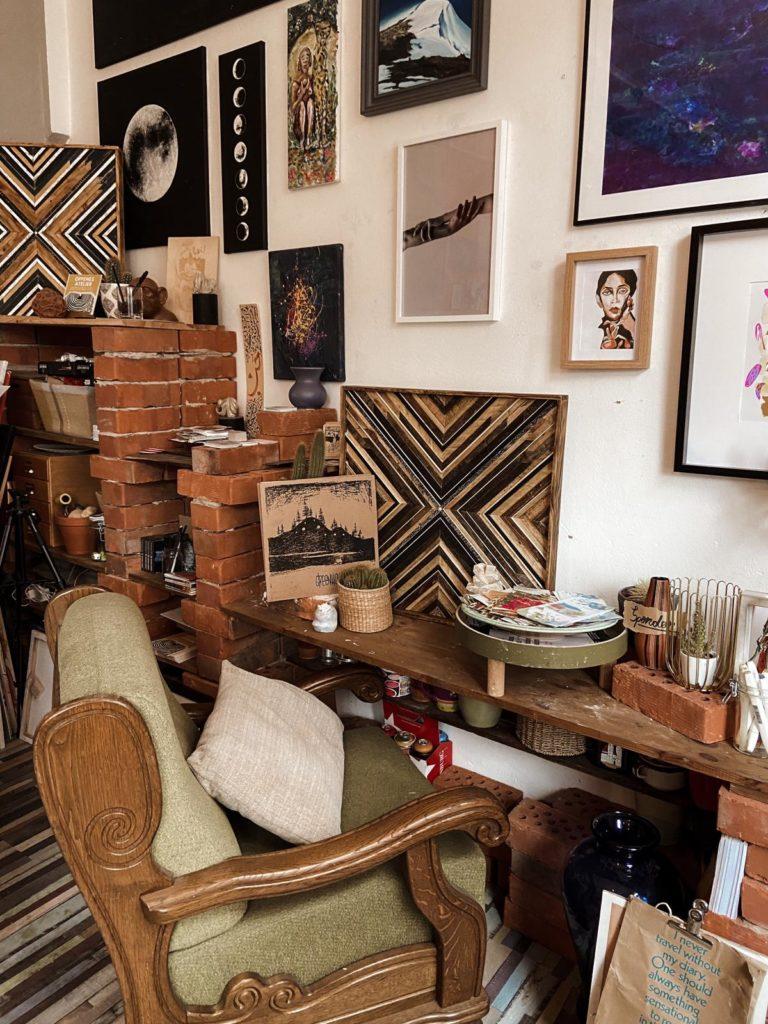 Inneneinrichtung Atelier Cafe