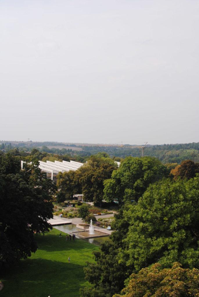 Ega-Park in Erfurt mit dem Danakil zur BUGA 2021