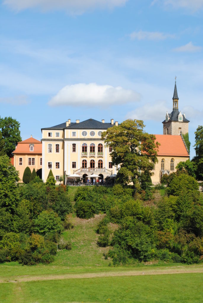 Schloß Etterburg bei Weimar BUGA 2021
