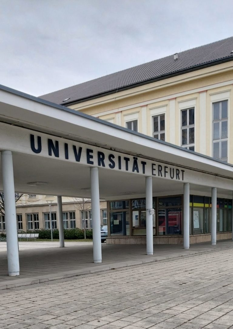 Studieren in Erfurt, Universität Erfurt