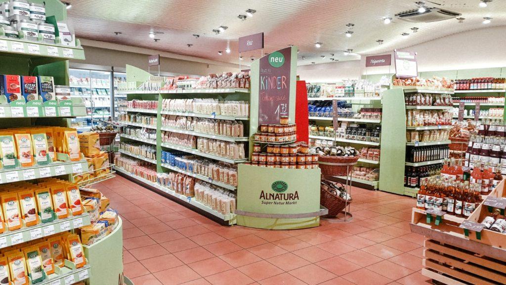 Alnatura Nachhaltig Einkaufen in Erfurt
